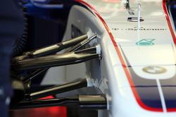 Technical detail, front suspension, Robert Kubica, BMW Sauber F1 Team