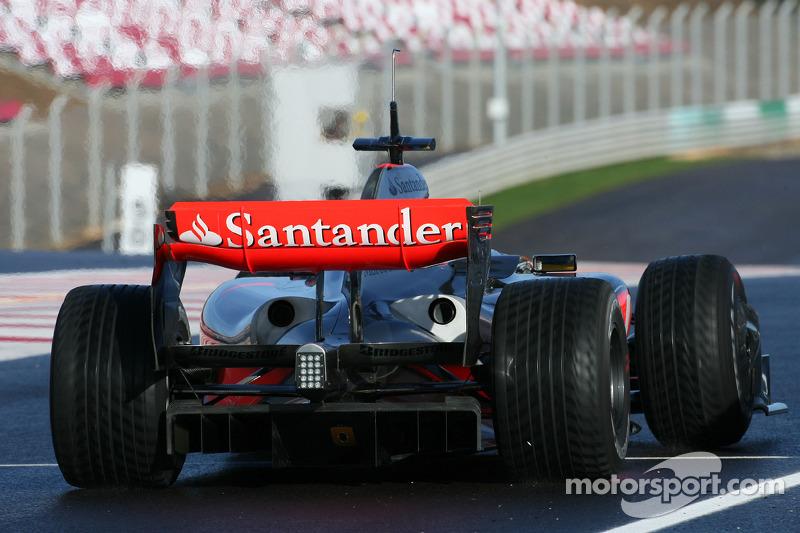 Lewis Hamilton, McLaren Mercedes in the new MP4-24