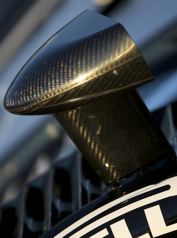 #2 Childress-Howard Motorsports Pontiac Crawford: mirror detail