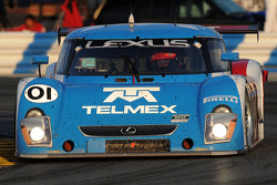 #01 Chip Ganassi Racing with Felix Sabates Lexus Riley: Juan Pablo Montoya, Scott Pruett, Memo Rojas