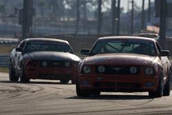 #7 Hickham Motorsports Ford Mustang GT: Steven Hickham Jr., Steven Hickham Sr.