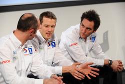 David Brabham, Alexander Wurz and Franck Montagny