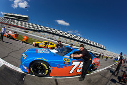 Cope/Keller Racing Dodge pushed to qualifying line