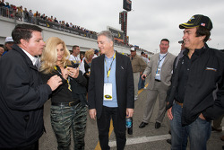 Piero Ferrari, Ferrari vice-president, with John Menard, Menards owner and friends