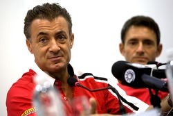 Jean Alesi and Gianni Morbidelli