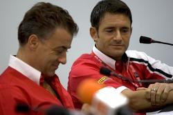 Jean Alesi and Gianni Morbidelli
