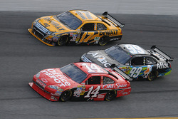 Tony Stewart, Stewart-Haas Racing Chevrolet, Carl Edwards, Roush Fenway Racing Ford, and Matt Kenseth, Roush Fenway Racing Ford
