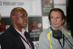 Tokyo Sexwale, Seat Holder A1 Team South Africa press conference