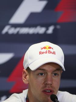 FIA press conference: Sebastian Vettel, Red Bull Racing
