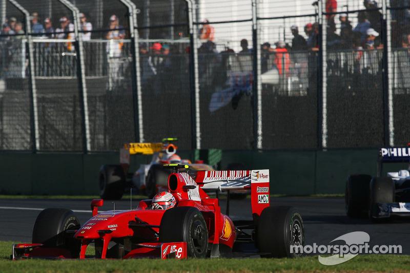 Kimi Räikkönen, Scuderia Ferrari, F60