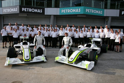 Gruppenfoto: Brawn GP