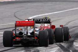 Lewis Hamilton, McLaren Mercedes and Kimi Raikkonen, Scuderia Ferrari