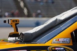 The DeWalt Power Tools Ford on pit road