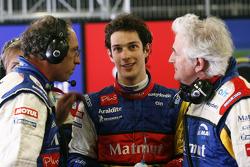 Bruno Senna with Hughes de Chaunac