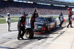 Pit stop for David Stremme, Penske Racing Dodge