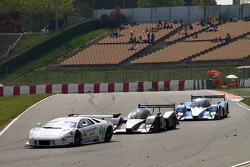 #55 IPB Spartak Racing Lamborghini Murcielago R-GT: Roman Rusinov, Peter Kox