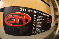 GT1 World 2010 project signage