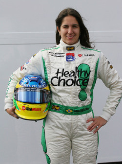 Ana Beatriz, driver of A1 Team Brazil