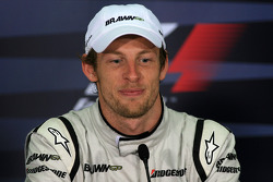 FIA press conference: Jenson Button, Brawn GP