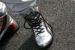 Shoes of Tom Kristensen, Audi Sport Team Abt Audi A4