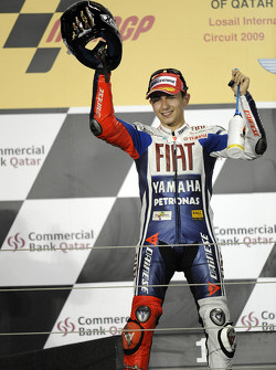 Podium: third place Jorge Lorenzo, Fiat Yamaha Team