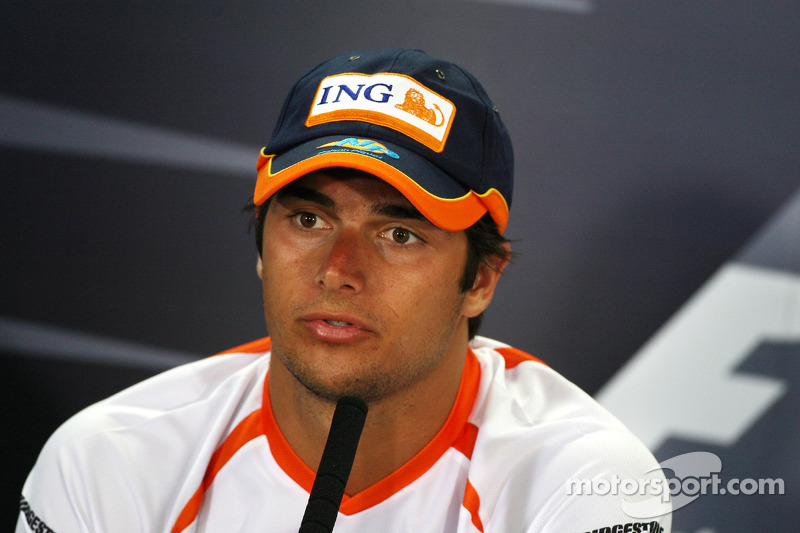FIA press conference: Nelson A. Piquet, Renault F1 Team