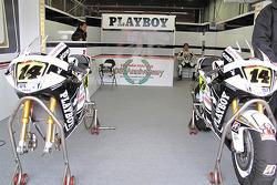 LCR Honda MotoGP Team pit box