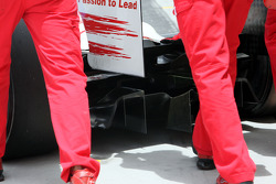 Rear diffusor of Timo Glock, Toyota F1 Team