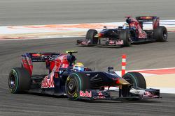 Sebastien Buemi, Scuderia Toro Rosso and Sébastien Bourdais, Scuderia Toro Rosso