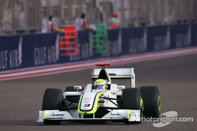 Jenson Button, Brawn GP wins the race
