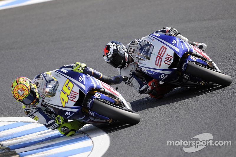 2009: Enge Duelle im Yamaha-Team