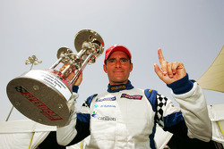 Gianni Morbidelli a Palm Beach celebra la vittoria