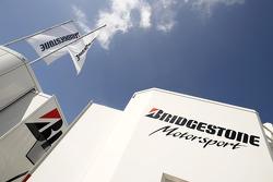 Bridgestone Motorsport paddock area