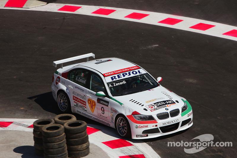 Алекс Дзанарді, BMW Team Italy-Spain, BMW 320si