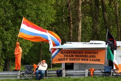Fans of A1 Team Netherlands