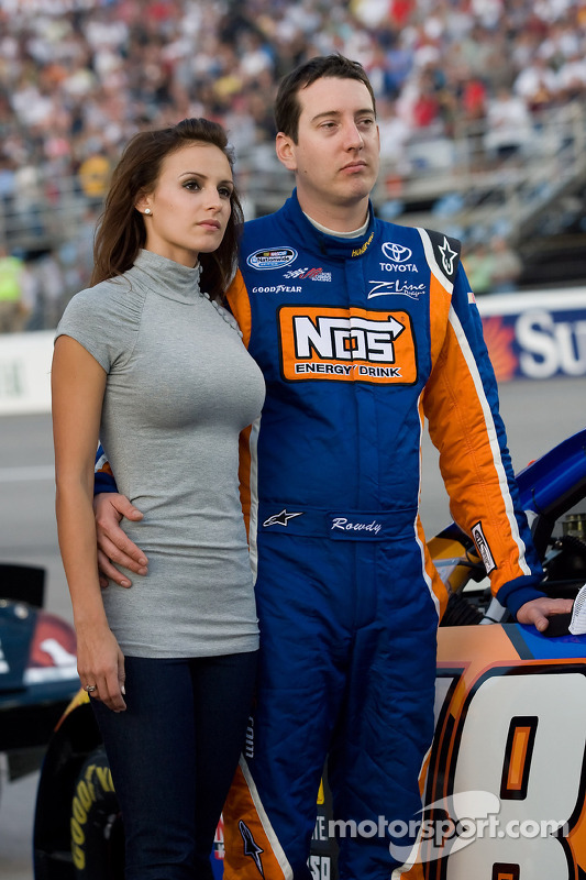 Kyle Busch et Samantha Sarcinella