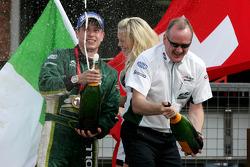 Adam Carroll, driver of A1 Team Ireland and Mark Gallagher