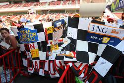 Fan poster for Fernando Alonso, Renault F1 Team