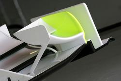 Brawn GP front wing detail