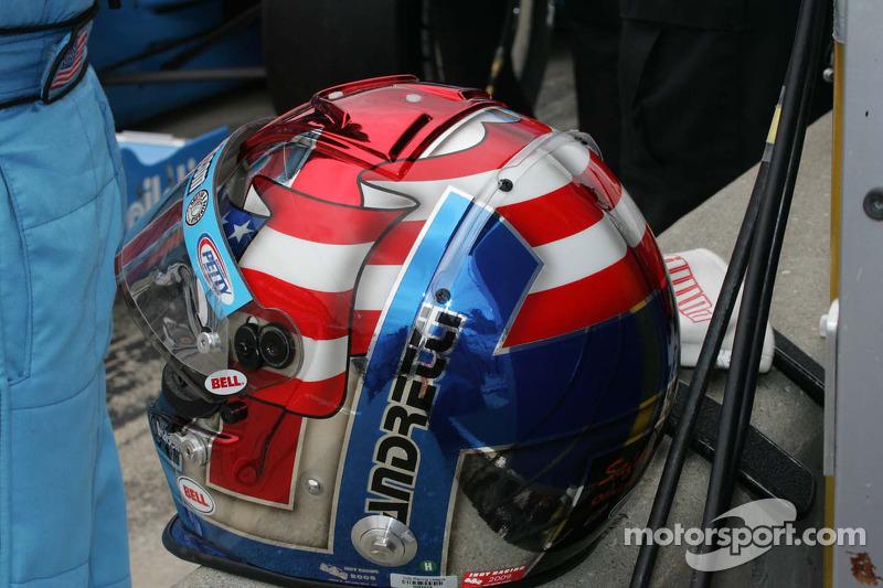 Helmet of John Andretti, Richard Petty/Dreyer & Reinbold