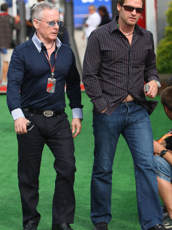 Steve Robertson, manager of Kimi Raikkonen, Scuderia Ferrari