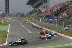Restart: Nico Rosberg, Williams F1 Team