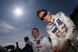 Christian Klien and Simon Pagenaud
