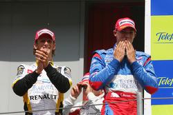 Edoardo Mortara and Romain Grosjean