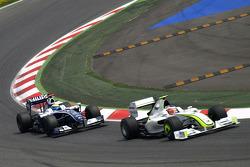 Rubens Barrichello, Brawn GP, Nico Rosberg, Williams F1 Team