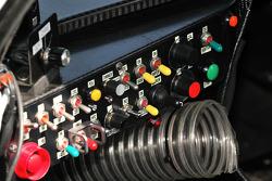 #16 Dyson Racing Team Lola B09 86 Mazda instrument panel detail