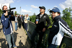 Yvan Muller, Seat Sport, Seat Leon 2.0 TDI interviews Felix Porteiro, Scuderia Proteam Motorsport, B