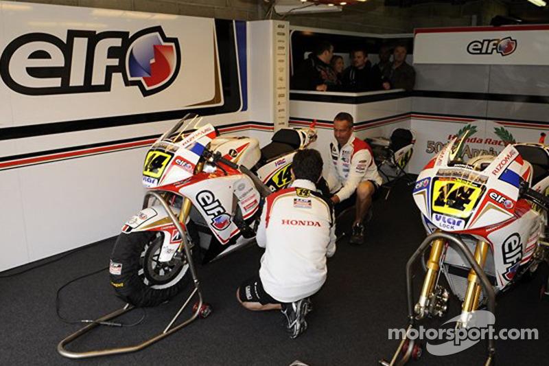 Stand de LCR Honda MotoGP