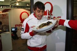 Николо Канепа, Pramac Racing, празднует день рождения