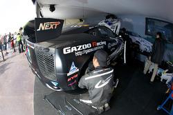 Gazoo Racing team members at work